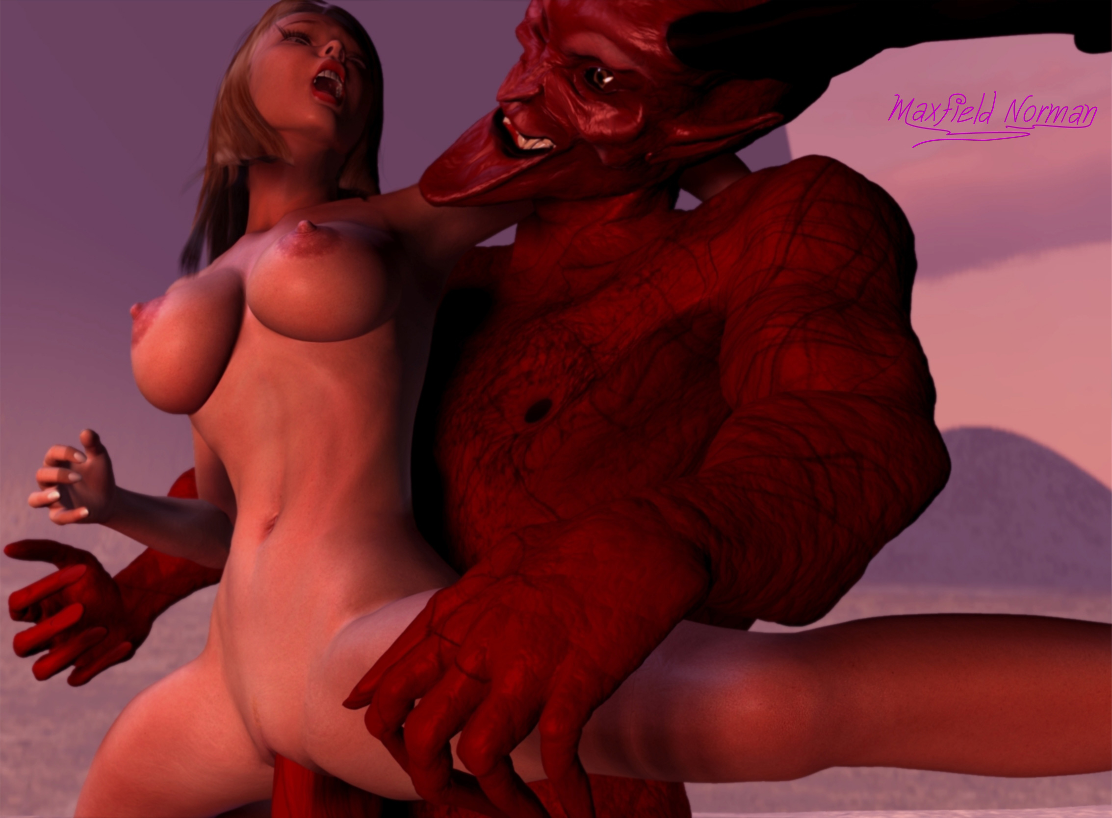 Can women have sex with a demon porn clip